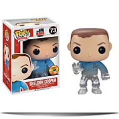 Buy Pop Television Sheldon Star Trek Blue