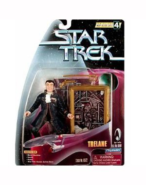 Trelane Star Trek:the Original Series Warp Factor Series 4 Action Figure From The Episode The Squire Of Gothos